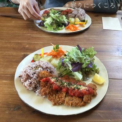 北中城ジジカフェのメニューは有機野菜がたっぷり