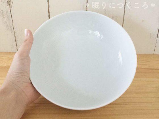 無印良品の白磁多様鉢大きさ比較