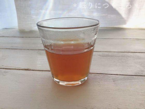 業務スーパー生姜紅茶の色