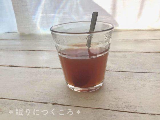 黒糖を入れた業務スーパーの生姜紅茶