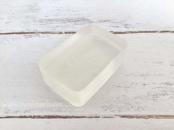 透明感が美しいちふれの洗顔用石鹸