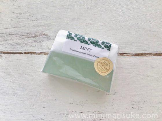 ペリカン石鹸マルシェボンのミント
